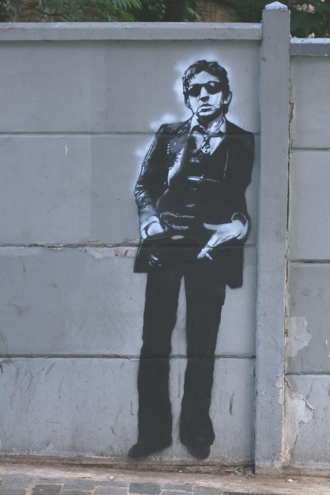 GAINSBOURG_001 * Graffiti